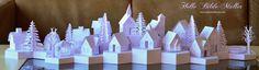 Tea Light Village from Marji Roy at #3dcuts