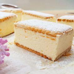 Sernik doskonały – prosty i szybki, kremowy i puszysty, nie opada i nie pęka – Słodki Blog Vanilla Cake, Delicious Desserts, Roman, Cheesecake, Cakes, Food, Cake Makers, Cheesecakes, Kuchen
