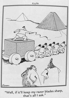 """The Far Side"" by Gary Larson. Far Side Cartoons, Far Side Comics, Funny Cartoons, The Far Side Gallery, Gary Larson Cartoons, Classroom Humor, Make Em Laugh, Silly Putty, Wtf Funny"