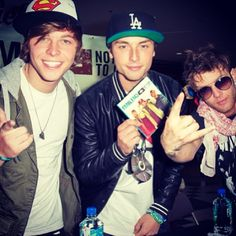 Emblem3 I loved them when they first came out I'm so happy they are be coming more known!!!