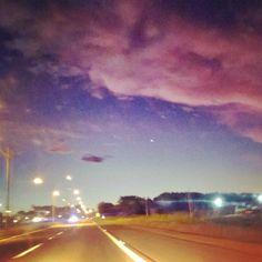 #DeOntem #Anoitecer #MaravilhaDeDeusEsseCéu #SantaRosa #NoiteLinda