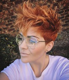 Short messy pixie haircut hairstyle ideas 60