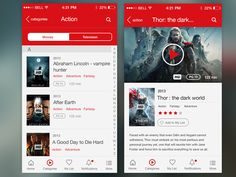 Netflix Screens - Redesign Concept by Leonardo Zem Gadotti