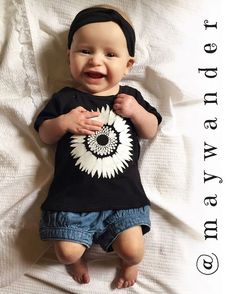 This little honey is looking too cute in my sunflower tee. It's now available in my shop in sizes for babies & toddlers with short or long sleeves. The link to may Etsy shop, maywander, is in my bio. Check it out <3 #maywander #etsy #handmade #handmadebabyclothes #handmadetoddlerclothes #organic #organiccotton #organiccottonclothing #instababy #instatoddler #sunflower #flower #instababies #toddlerfashion #babyfashion #toddlerlife #babyswag #babyclothing #toddlerclothing #babywear #babylife…