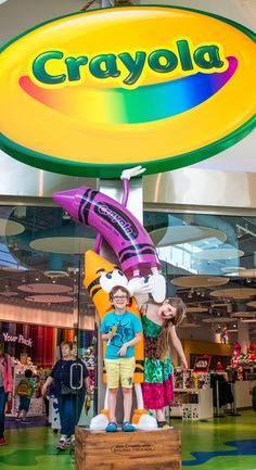 Image result for Crayola Experience Orlando pinterest