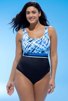a618ac9a7f Plus Size One Piece Swimsuits
