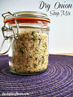 All natural and gluten free I love to use this easy DIY soup mix in my recipes.