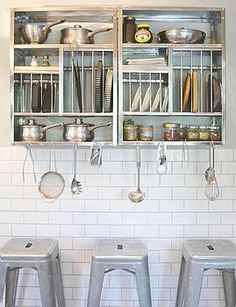 Kitchen Cabinets India, Metal Kitchen Cabinets, Kitchen Storage Units, Kitchen Shelves, Kitchen Racks, Kitchen Gadgets, Wall Mounted Dish Rack, Plate Rack Wall, Living Room Furniture Layout