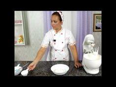 Ganache branco para decoração de bolos e cupcakes - YouTube