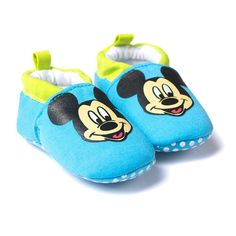 Cotton Moccasin Crib Shoes $14.99