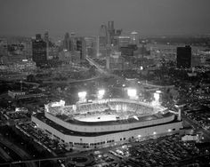 View of DETROIT'S TIGER STADIUM...  GONE BUT NOT FORGOTTEN!!!!