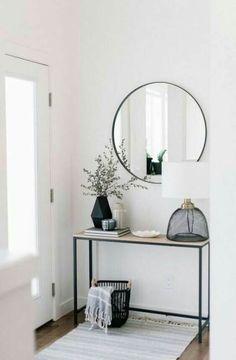 Minimalist home entry decor ideas - Beautiful room decor ideas Living Room Decor, Bedroom Decor, Bedroom Ideas, Dining Room, Condo Living Room, Design Bedroom, Flur Design, Design Design, Apartment Living