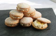 Coconut Orange Cakes