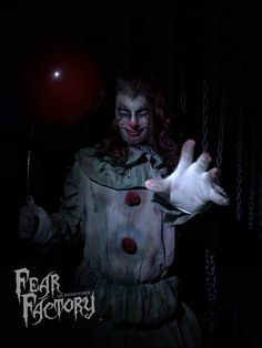 Pennywise will be here this Halloween at Fear Factory Queenstown, Halloween 2019 Fear Factory, Halloween 2019, Joker, Fictional Characters, Art, Art Background, Kunst, The Joker, Performing Arts