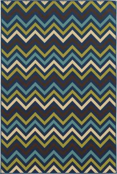 Archer Lane Bancroft Persian Indoor/Outdoor Area Rug (Common: 7 x Actual: W x L) at Lowe's. This collection of machine-made indoor/outdoor rugs showcasing simple, geometric patterns. The clean lines, fresh colors and soft hand of the looped