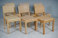 Artek, Finland, Aino Aalto, tuoleja. Huutokauppa Helander