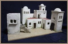 1 million+ Stunning Free Images to Use Anywhere Christmas Village Display, Christmas Villages, Christmas Nativity, Christmas Crafts, Christmas Decorations, Nativity House, Diy Nativity, Wargaming Terrain, Modelos 3d