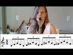 Estudando ESCALAS no seu instrumento de SOPRO - PARTE 1 / AULA DE SAX, CLARINETE E FLAUTA DOCE - YouTube