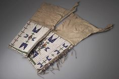 Женские леггинсы, Оглала. Пайн Ридж, 1902 год. Кларк Висслер.