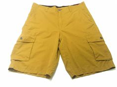 Tony Hawk 36 Men's Medal Bronze Cargo Shorts Polyester Cotton Nylon NEW NWT #TonHawk #Cargo