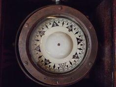Antique Marine Sestrel Compass Very Rare V for West Nautical Maritime Binnacle Vintage Compass, Nautical, Antiques, Tableware, Ebay, Navy Marine, Antiquities, Antique, Dinnerware