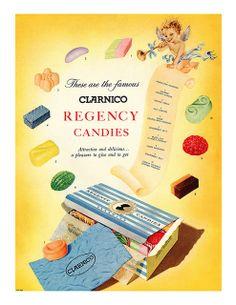 1954 Clarnico Regency Candies ad | Flickr - Photo Sharing!