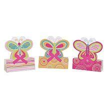 """Creative Converting Mod Butterfly Centerpiece -- multicolor by Creative Converting. $3.29. Design is stylish and innovative. Satisfaction Ensured.. 1 Set of 3. Manufactured to the Highest Quality Available.. Size: 6"""". Creative Converting is a leading manufacturer and distributor of disposable tableware including high-fashion paper napkins plates cups and tablecovers in a variety of solid colors and designs appropriate for virtually any event"""