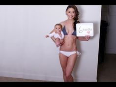 6 Easy Home Workouts | Get Your Body Back After Baby - YouTube