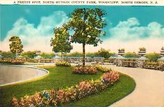 North Hudson County Park postcard from 1929