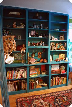 An idea for a child's shelf. Let them see their place in toy history.