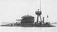 Faà di Bruno was built when 40-caliber Cannone navale da 381/40 guns from the Francesco Caracciolo-class battleships became available after their construction was suspended in 1916.  #FaàdiBruno #FaàdiBrunoMonitor #Monitor