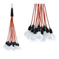 Lustre design multi ampoules pour lachambre parentale ou chambrer d'amis