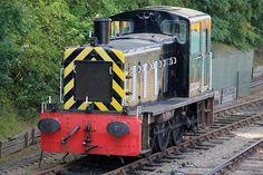 British Railways class 03 diesel shunter locomotive D2184, Sible and Castle Headingham, Colne Valley Railway, Essex. 2012