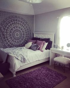 Aesthetic room decor Your Guide to Bathroom Planning and Design This bathroo Cute Bedroom Ideas, Cute Room Decor, Room Ideas Bedroom, Small Room Bedroom, Bedroom Decor, Bedroom Ideas For Small Rooms For Teens For Girls, Bohemian Bedroom Design, Girl Bedroom Designs, Room Tapestry