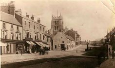 Church Street, Old Hartlepool. Old Pictures, Old Photos, Bishop Auckland, Northern England, Strange Photos, Sunderland, Durham, The Past, Homes
