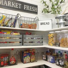 Sweet pantry idea!