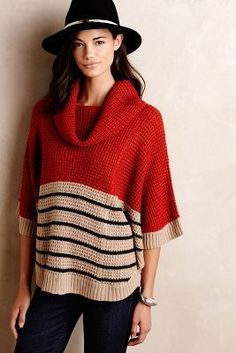 THML Guilford Cowl Pullover #anthrofave