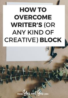 Are you trying to overcome writer's block? Or bust through some other sort of creative block? Click through for 7 writing block tips from a 3-time author and MFA!