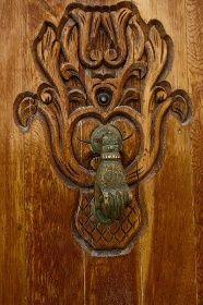 Door Knocker, Asilah, Morocco