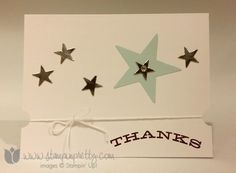 Stampin up stamping up demonstrator blog paper pumpkin thank you card ideas july 2014