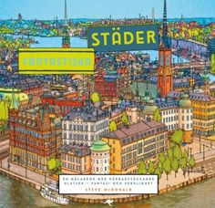 Find This Pin And More On Coloring Books The Swedish Edition Of Fantastic Cities
