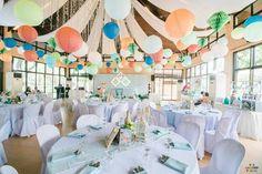 Jaime's Geometric Fox Themed Party – Ceiling Geometric Fox, Party Themes, Party Ideas, Ceiling, Table Decorations, Birthday, Home Decor, Ceilings, Birthdays