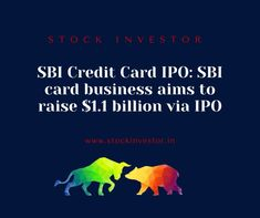 SBI Credit Card IPO: SBI said that it is wanting to lessen its stake in the Mastercard business through an Initial public offering. As of the source, SBI Card's new Initial public offering subtleties spilled authoritatively. The Credit Card auxiliary of State Bank of India intends to raise about Rs 8,000 crores by means of the First sale of stock, said a source. Initial Public Offering, Stock Market, Raising, Initials, India, Sayings, Business, Cards, Goa India