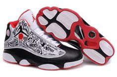 Air Jordan 13 Embroidery Black White Red. Sneakers SaleJordans SneakersNike  Air JordansRed SneakersJordan 13 ShoesJordan Shoes OnlineRetro ...