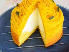 簡単☆かぼちゃのモンブランの画像 Bread Recipes, Cake Recipes, Dessert Recipes, Cooking Recipes, Desserts, Japanese Cake, Japanese Food, Different Cakes, Cake Shop