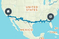 Coast to Coast Road Trip: The Best of Everything Along I-10 Map