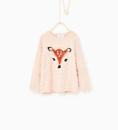 ZARA- Kids Little Faces Sweater