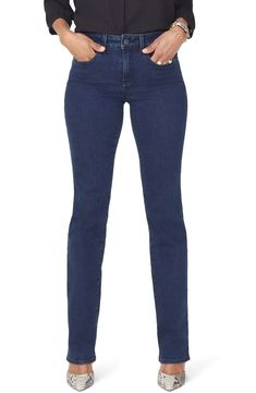89273a34724e0 Free shipping and returns on NYDJ Marilyn Stretch Straight Leg Jeans  (Regular & Petite)