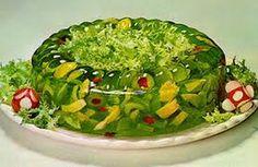 green savoury jello - Google Search