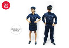 Police man and woman